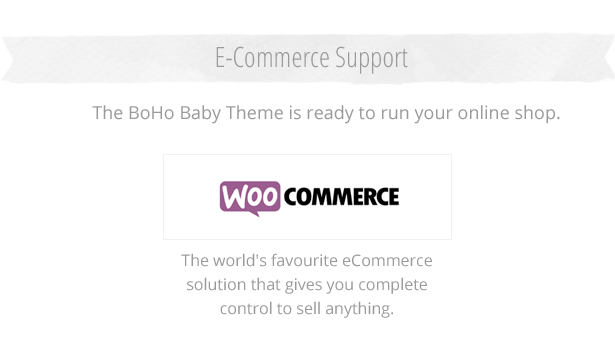 eCommerce with WooCommerce